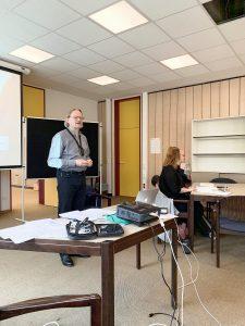 Bericht über den Vortrag und Workshop von Prof. Dr. Thomas Kaul: Bimodal-bilingualer Unterricht und DGS als Unterrichtsfach